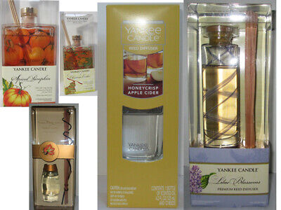 Yankee Candle Fragranced Premium Reed Diffuser Glass u pick scent
