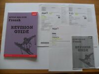 Pearson Revise AQA GCSE French Revision Guide *PLUS* 2 Exam papers & Mark scheme