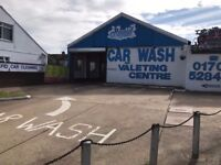 Hand Car Wash Business For Sale