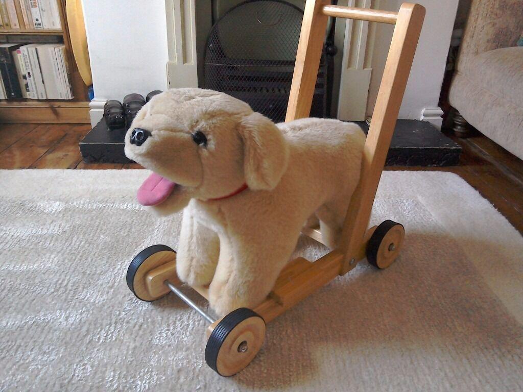Push Along Dog Toy
