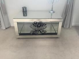 Beautiful Venetian mirror coffee table side unit perfect condition