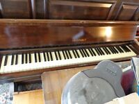 Upright over-strung steel frame EUNGBLUT piano