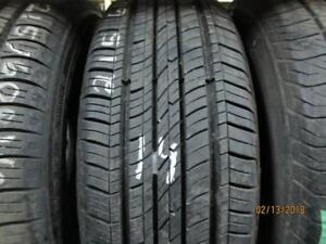215/60R16 SINGLE ONLY USED COOPER ALL SEASON TIRE