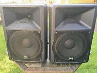 """IMG Stage Line PAB-112MK2 12"""" speakers 250watt rms each"""