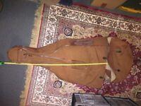 Brown soft cover for cello