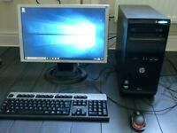 pc computer full microsoft office monitor keyboard mouse