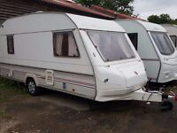 1992 Sprite Musketeer 5 Berth Caravan with New Motor Mover, New Tyres and New Alko Hitch