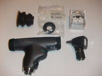 Welch Allyn PANOPTIC OPHTHALMOSCOPE AND OTOSCOPE SET HEADS ONLY W/CORNEAL LENS