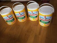Sandtex Masonry Paint, Ultra Smooth, Country Stone 4 x 5 litre tins for exterior surfaces.