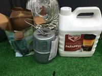 Small greenhouse paraffin heater
