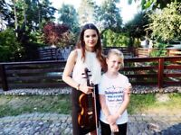 Violin lessons / Violin teacher