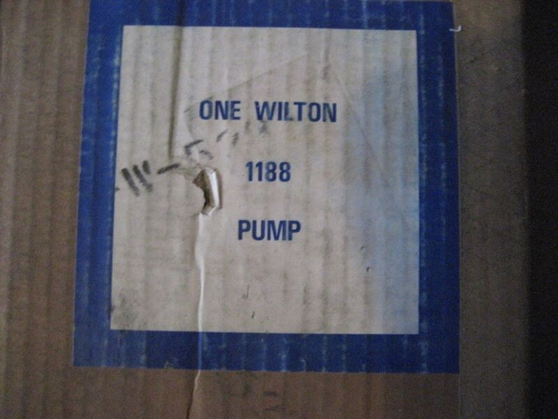 WILTON 1188 PUMP (D1059-1)