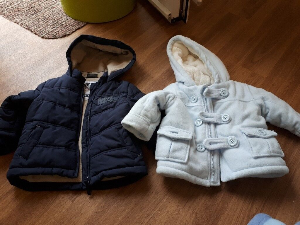 Baby coats age 6-9 months