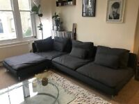 Minimal, Large, 4-Seat Corner Sofa. Brand new upholstery (Highbury)