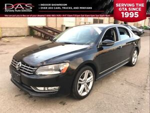 2012 Volkswagen Passat HIGHLINE/NAVIGATION/LEATHER/SUNROOF