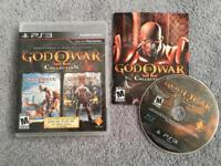 God of War Collection PS3 looks NEW!