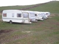 Touring caravans-CHEAP to clear