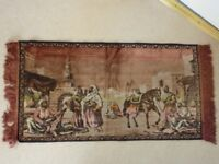 vintage Middle Eastern wall rug/Tapestry