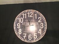 Shabby Chic Clock Large