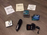 Sony MZ-N520 MD Walkman Personal MiniDisc Recorder Player and Condenser Microphone