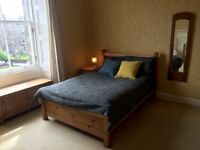 Sunny Spacious Double Room in Victorian Fat with High Ceilings + Open Views
