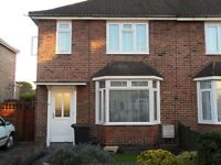 Attractive clean and tidy 3 bed semi with garden and parking in nice quiet location. No smokers.