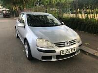 VW GOLF MATCH 1.9 TDI WITH FULL MOT HISTROY 2005 LOW MILES FSH