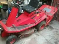 Countax rider on mower