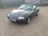 SPARES OR REPAIRS 99/ V MAZDA MX5 2DR CONVERTIBLE £300 NO OFFERS