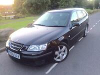 2006 56 Saab 9-3 Vector Sport 1.9 tid 150 bhp 6 speed estate , Leather # cruise # 2 owners # Fsh