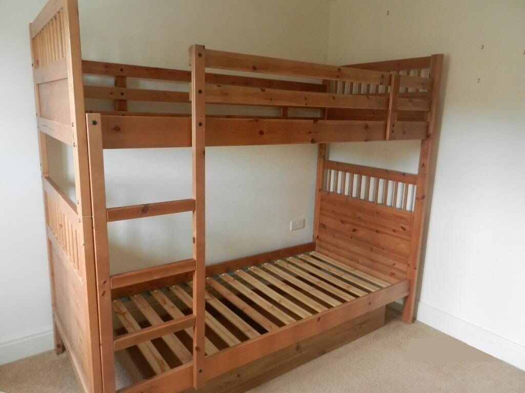 ikea hemnes bunk bed in leicester leicestershire gumtree. Black Bedroom Furniture Sets. Home Design Ideas