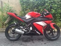 Yamaha YZF-R125 124cc