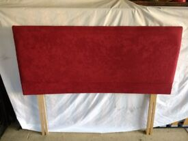 FREE. 4ft. headboard in deep pink, excellent condition