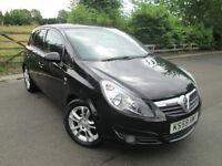 Vauxhall Corsa 1.2 i 16v SXI 5dr 2010/59 BLACK with 37k MILES