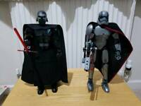 Lego Star Wars Kylo Ren and Captain Phasma