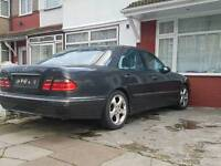 Mercedes w210 e240 v6 breaking W reg 2000 facelift dark grey