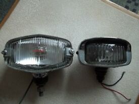 2 Vintage Classic Car Reversing Lights
