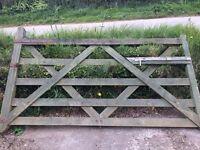 8 ft 5 Bar Gate Strong Farm Gate