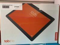 Lenovo e10 16gb wifi tablet