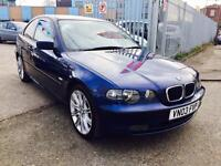 BMW 316 TI COMPACT 1.8 PETROL DRIVES VERY GOOD