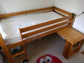 Mid sleeper bunk bed