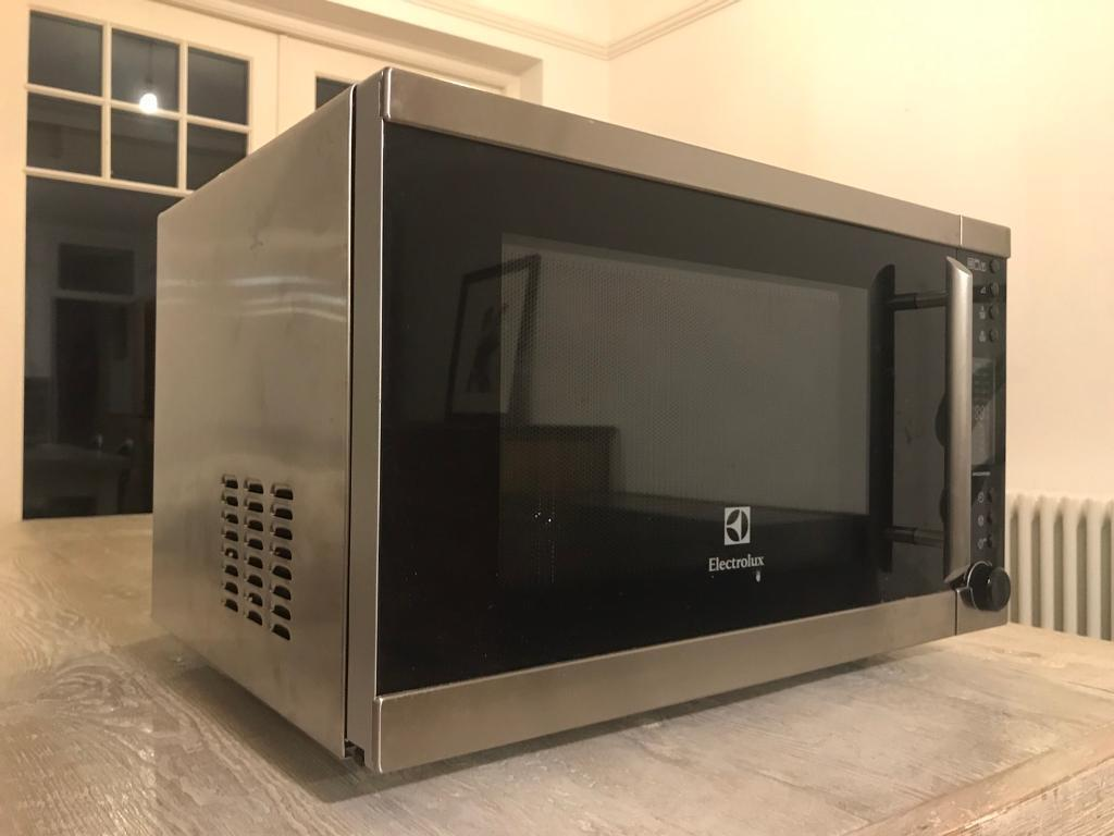 electrolux ems30400ox. electrolux stainless steel freestanding microwave oven with grill ems30400ox ems30400ox