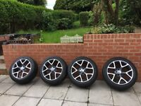 Vauxhall Insignia 18inch alloys and tyres
