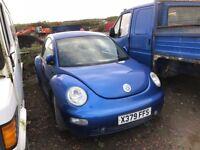 Volkswagen Beetle petrol spare parts bonnet wing light radiator wing dooron