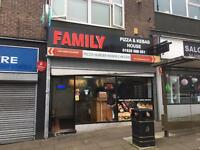 Busy Pizza and Kebab Shop £185000