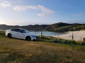 Stunning white BMW E90318I M sport