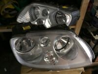 Vw caddy front lights headlights