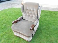 Old Fireside Wingback Chair