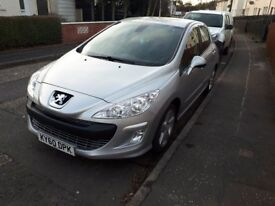 Peugeot 308 1.6VVT low mileage and full service history