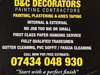 🔸END OF TENANCY REDECORATING AND CLEANING/painter. and decorator/cleaner /carpet shampoo/rubbish up